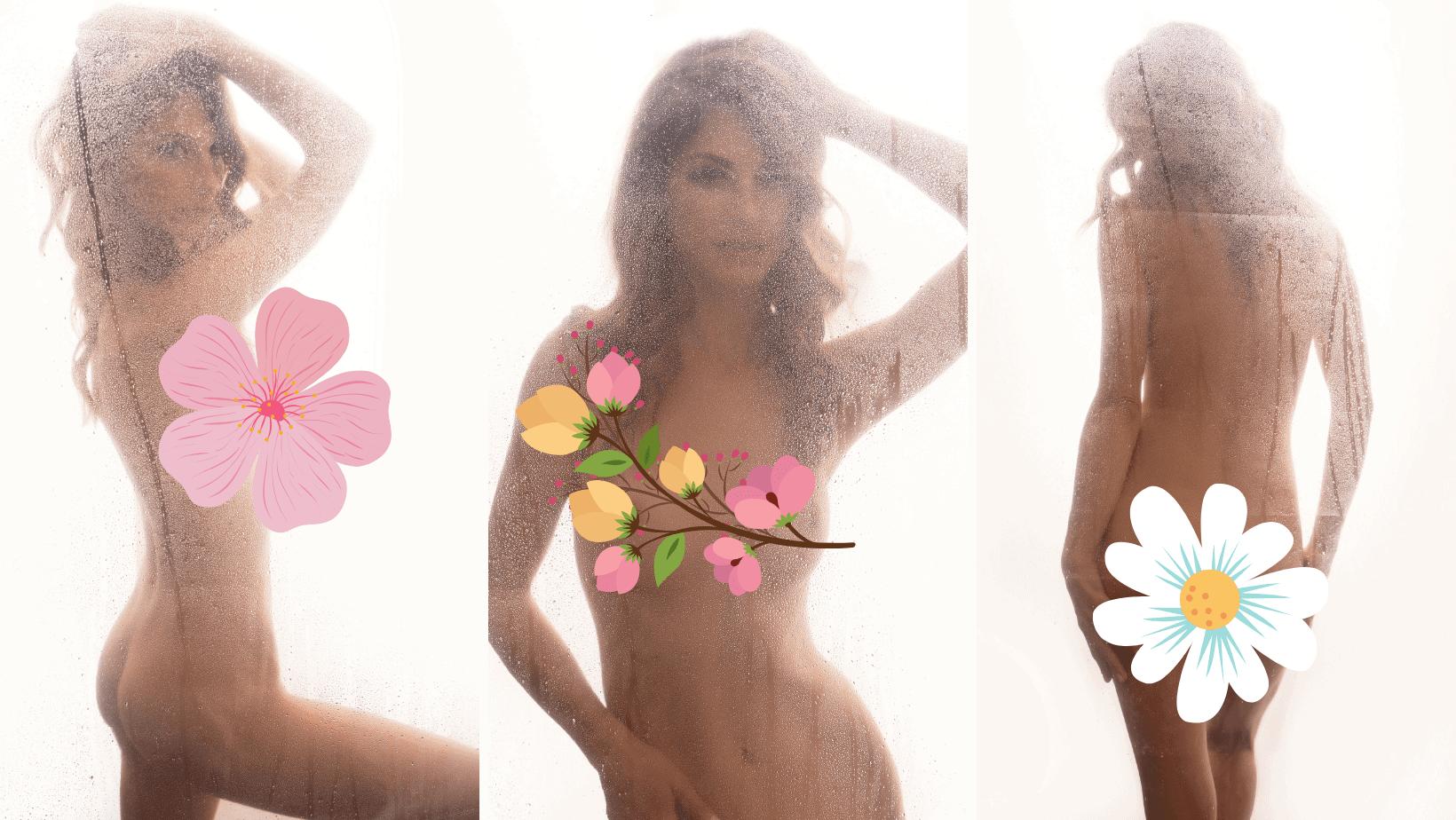 Boudoir Studio Shower Set